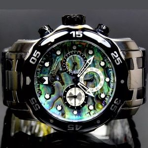 Weekend sale(FIRM PRICE)Invicta Abalone men watch
